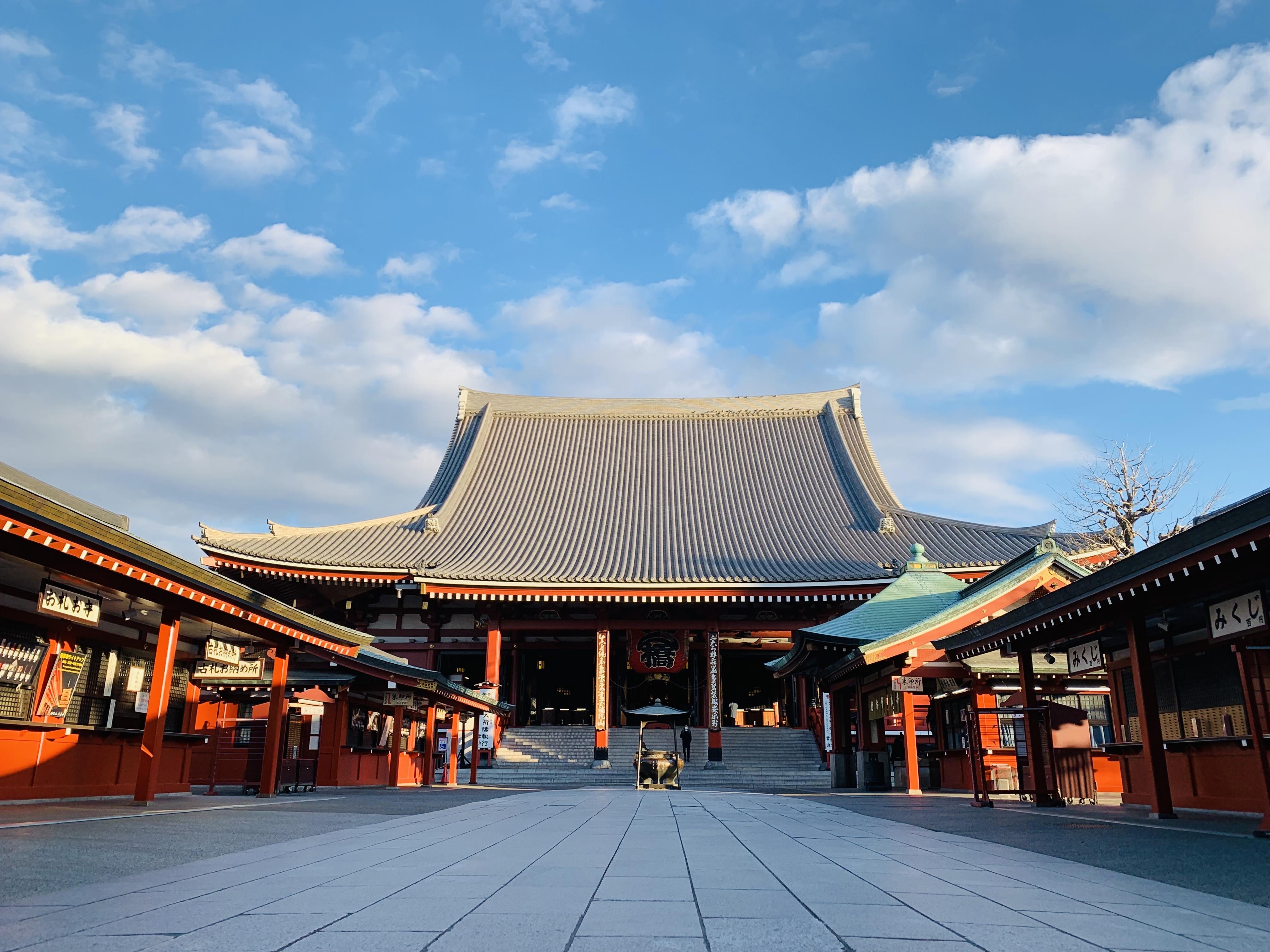 世界一の浅草寺と、なんでも叶えてくれる神様